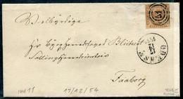 DANEMARK - N° 2 / LSC DE ODENSE LE 17/12/1854 - TB - 1851-63 (Frederik VII)