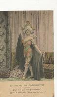 Le Secret De Polichinelle . Femme Habillée En Homme - Carnaval