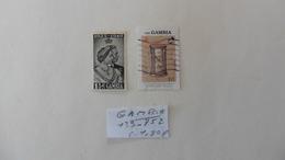 Afrique > Gambie : 2 Timbres  N° 139-752 Oblitérés - Gambie (1965-...)
