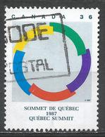 Canada 1987. Scott #1146 (U) Intl. Francophone Summit, Quebec ** - 1952-.... Règne D'Elizabeth II