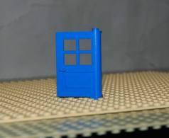 Lego Porte 1x4x5 Bleu A 4 Panneaux Ref 3861 - Lego Technic