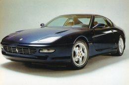 Ferrari 456 GT     -  1998    -  Carte Postale - Voitures De Tourisme