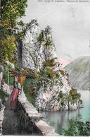 COSTUME TICINESE → Lago Di Lugano - Rocca Di Gandria Anno 1909 - TI Tessin