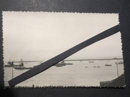 Le Havre - Carte Photo - Paquebot Normandie - Départ Et Voyage Inaugural Dans Le Port Du Havre Mai 1935 - TBE - - Paquebote