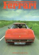 Ferrari 328 GTB    - 1986    -  Carte Postale - Voitures De Tourisme