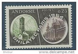 "Andorre YT 171 "" Expo Philatélique ""1964 Neuf** - Unused Stamps"