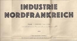FRANCE (INDUSTRIE NORDFRANKREICH) - 200.000ème. - Cartes Routières