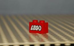Lego Brique 1x2 Avec Logo Lego Le O Ouvert Ref 3004p50 - Lego Technic