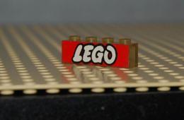 Lego Brique 1x4 Transparent (un Peu Jauni) Avec Logo Lego O Ouvert Ref 3066pb12 Set 995 - Lego Technic