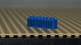 Lego Brique 1x4 Space Bleu Avec Motif Grille Noire 15 Traits Ref 3010p04 - Lego Technic
