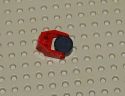 Lego Porte-aimant Rouge 2 X 3 Ref 2607 Avec Aimant Ref 73092 - Lego Technic