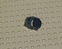 Lego Porte-aimant Gris Foncé 2 X 3 Ref 2607 Avec Aimant Ref 73092 - Lego Technic
