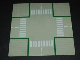 Lego Baseplate Plaque De Base Route 32 X 32 Carrefour  Ref 607p01 - Lego Technic