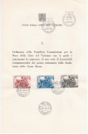 Vatican Vaticane Vaticano 1964 First Day Sheet - Booklets