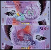 Vanuatu 500 Vatu (2017/2019) Polymer Commemorative Notes - Vanuatu