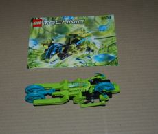 Lego Set 8509 Véhicule Et Plan Sans Boite - Lego Technic