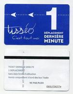 Ticket De Bus Tisséo Toulouse 2019 - 1 Déplacement Dernière Minute - Vente Uniquement à Bord Des Bus Tisséo - Bus