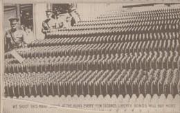 Militaria - Propagande Américaine - Soutien Aux Armées - Fabrication Obus Usine Armement - Guerre 1914-18