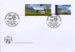 2009 , LIECHTENSTEIN , MONACOPHIL - MONTECARLO , SEPAC , ARQUITECTURA - Liechtenstein