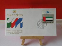 Nations Unies > Office De Genève - United Arab Emirates (Émirats Arabes Unis)- 21.9.1984 - FDC 1er Jour - FDC