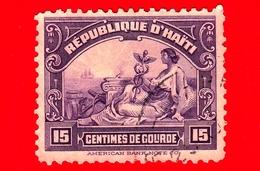 HAITI - Usato - 1920 - Allegoria Del Commercio - 15 - Haiti