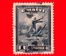 HAITI - Usato - 1946 - Battaglie - Colonnello Francois Capois (1766-1806) - 1 P. Aerea - Haiti