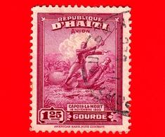 HAITI - Usato - 1946 - Battaglie - Colonnello Francois Capois (1766-1806) - 1.25 P. Aerea - Haiti