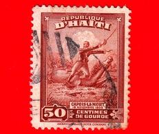 HAITI - Usato - 1946 - Battaglie - Colonnello Francois Capois (1766-1806) - 50 - Haiti