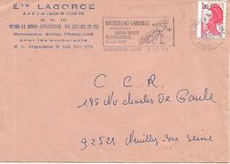 COR120 -ANNULLO ANGOULEME GARE - MOTOCICLISMO - GRASS-TRACK INTERNATIONAL 8 Aout 1982 - 6.7.82 - Moto