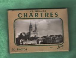 CP50 VIEUX PAPIERS POCHETTE Complète 20 Cartes N Bl   28 CHARTRES   Format 9 X 6 Cm Env - Cartes