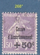 N° 268°  Caisse Amortissement - France