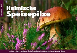 Austria - 2018 - Edible Mushrooms - Mint Stamp Booklet - 1945-.... 2a Repubblica