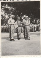Vietnam - Cochinchine : Ile De Beutré : 11-11 - 1947 :  Tintin à La Prise D'armes ( 6cm X 4,3cm ) Photo Militaire - War, Military