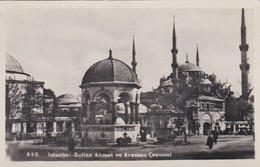 CARTOLINA - POSTCARD - TURCHIA - ISTANBUL - SULTAN AHMET VEARAMAN CESMESI - Turchia