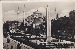 CARTOLINA - POSTCARD - TURCHIA - ISTANBUL - AYA SOFYA CAMII - Turchia