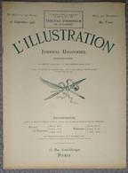 L'Illustration 3837 16 Septembre 1916 Anzac Et Sulva/Pierre Loti/Salonique/Cléry-sur-Somme/Zeppelin L 21 Abattu - Journaux - Quotidiens