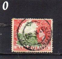1961 Elizabeth 2 1/2c Used - Basutoland (1933-1966)