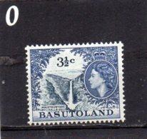 1961 Elizabeth 3 1/2c MNH - Basutoland (1933-1966)