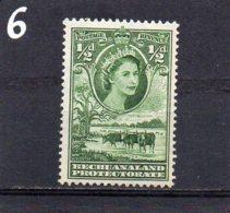 1955 Elizabeth 1/2d MNH - Bechuanaland (...-1966)