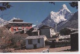 Nepal, Thangboche Monastery With Amadablam - Népal