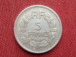 FRANCE Monnaie De 5 Frs Transformée En Monnaie De Comptoir - Francia