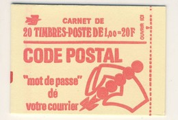 (C18) - CARNET FERME DE 20 TP - MARIANNE BEQUET 1.00F - Y&T N°1892 - Carnets
