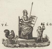 Rouffach An 4 - 11.1.1797 Beau Héraldique Location De Biens Domaniaux - Documentos Históricos