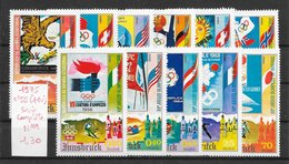 Sport D'hiver - Guinée équatoriale N°58 (11v) (JO Innsbruck 1976) 1975 ** - Winter 1976: Innsbruck