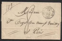 1835 - LAC C.à.d ORDEC Type 11 A PARIS - 1801-1848: Précurseurs XIX