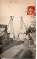 C.P.A Saint Sulpice La Pointe Tarn  Vue De L'entrée Du  Pont Sur L'Agout édition SF Voyagée - Saint Sulpice