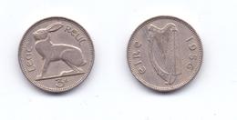 Ireland 3 Pence 1956 - Irlande