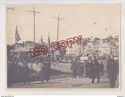 Au Plus Rapide Marine Japonaise Japon Torpilleurs ? Port De Marseille Année 1917 * Beau Format - 1914-18