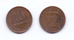 Mozambique 10 Centavos 1936 - Mozambique