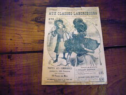 PARIS GRANDS MAGASINS AUX CLASSES LABORIEUSES 46 BOULEVARD DE STASBOURG CATALOGUE ETE 1901 PORT GRATUIT - Mode
